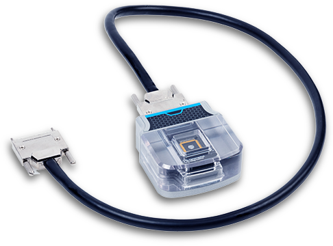 AGILE R100 cartridge with an optional cable accessory