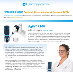 Agile R100 has high sensitivity and ability to sense in serum